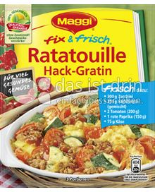 Produktabbildung: Maggi fix & frisch Ratatouille Hack-Gratin 43 g