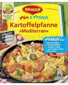 Produktabbildung: Maggi fix & frisch Kartoffelpfanne »Mediterran« 32 g