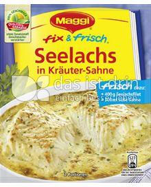 Produktabbildung: Maggi fix & frisch Seelachs in Kräuter-Sahne 37 g