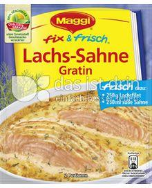 Produktabbildung: Maggi fix & frisch Lachs-Sahne Gratin 29 g