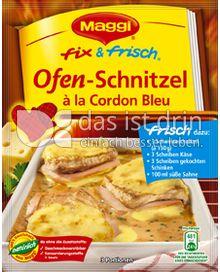 Produktabbildung: Maggi fix & frisch Ofen-Schnitzel à la Cordon Bleu 32 g