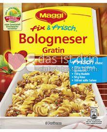 Produktabbildung: Maggi fix & frisch Bologneser Gratin 38 g