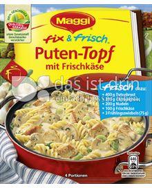 Produktabbildung: Maggi fix & frisch Puten-Topf mit Frischkäse 51 g