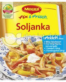 Produktabbildung: Maggi fix & frisch Soljanka 38 g