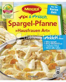 Produktabbildung: Maggi fix & frisch Spargel-Pfanne »Hausfrauen Art« 48 g