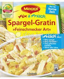 Produktabbildung: Maggi fix & frisch Spargel-Gratin »Feinschmecker Art« 48 g