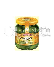 Produktabbildung: Hengstenberg Genießer Gürkchen 580 ml