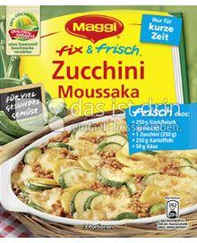 Produktabbildung: Maggi fix & frisch Zucchini Moussaka 45 g