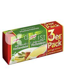 Produktabbildung: Knorr Soße nach Art Hollandaise 3 St.