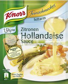 Produktabbildung: Knorr Feinschmecker Zitronen Hollandaise Sauce fettarm 250 ml