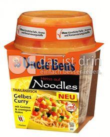 Produktabbildung: Uncle Ben's® Heiss auf Noodles Thailändisch - Gelbes Curry 290 g