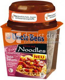 Produktabbildung: Uncle Ben's® Heiss auf Noodles Chinesisch - Soja-Sesam 290 g