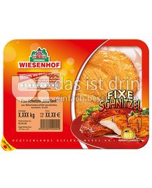 Produktabbildung: Wiesenhof Fixe Schnitzel BBQ-Senf