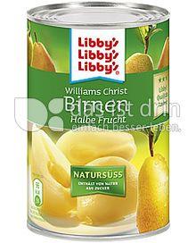 Produktabbildung: Libby's Williams Christ Birnen halbe Frucht Natursüß 410 g