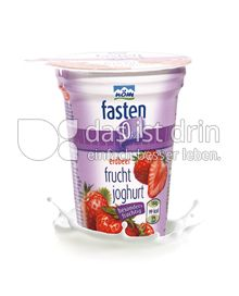 Produktabbildung: nöm fasten Fruchtjoghurt Erdbeer 180 g