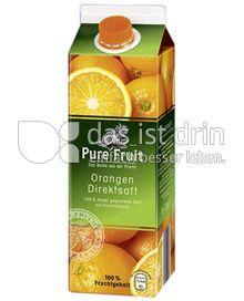Produktabbildung: Pure Fruit Orangen Direktsaft 1 l