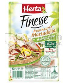 Produktabbildung: Herta Finesse hauchzarte Mortadella 80 g
