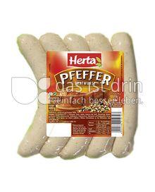 Produktabbildung: Herta Pfeffer-Bratwurst 400 g