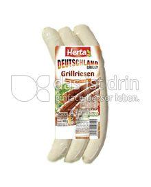 Produktabbildung: Herta Deutschland grillt Grillriesen 400 g