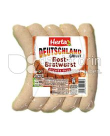 Produktabbildung: Herta Deutschland grillt Rostbratwurst 400 g