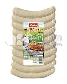 Produktabbildung: Herta Deutschland grillt Rostbratwurst 800 g