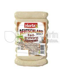 Produktabbildung: Herta Deutschland grillt Rostbratwurst Fränkische Art 200 g
