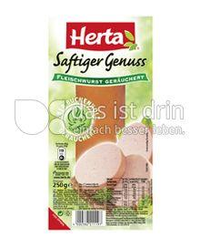 Produktabbildung: Herta Saftiger Genuss Fleischwurst geräuchert 250 g
