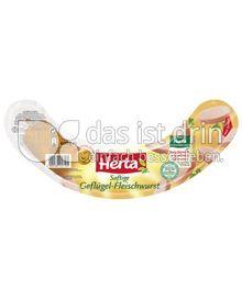 Produktabbildung: Herta Saftige Geflügel-Fleischwurst 400 g