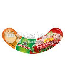 Produktabbildung: Wiesenhof Fleischwurst Paprika 400 g