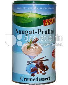 Produktabbildung: Asal Nougat Praliné Cremedessert 250 g