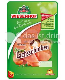 Produktabbildung: Wiesenhof Puten Lachsschinken 80 g