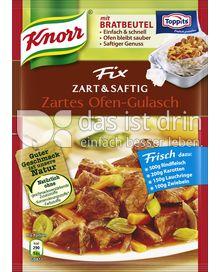 Produktabbildung: Knorr Fix Zartes Ofen-Gulasch 40 g