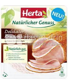 Produktabbildung: Herta Natürlicher Genuss Delikater Krustenschinken 100 g