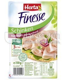 Produktabbildung: Herta Finesse Schinken herzhaft geräuchert 150 g