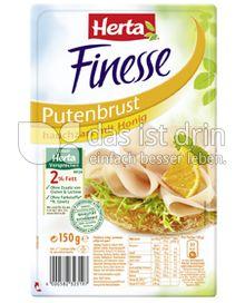 Produktabbildung: Herta Finesse Putenbrust hauchzart mit Honig 150 g