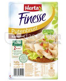 Produktabbildung: Herta Finesse Putenbrust Barbecue 120 g
