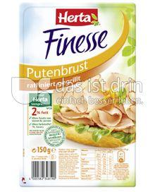 Produktabbildung: Herta Finesse Putenbrust raffiniert gegrillt 150 g