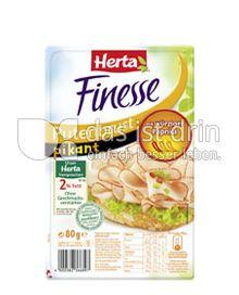 Produktabbildung: Herta Finesse Putenbrust pikant 80 g