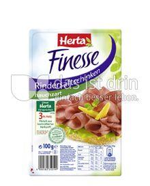 Produktabbildung: Herta Finesse Rindersaftschinken hauchzart 100 g