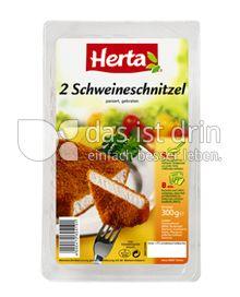 Produktabbildung: Herta 2 Schweineschnitzel 300 g