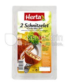 """Produktabbildung: Herta 2 Schnitzelet """"Cordon-Bleu-Art"""" 300 g"""