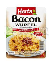 Produktabbildung: Herta Bacon Würfel 200 g