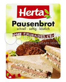 Produktabbildung: Herta Pausenbrot mit Frikadelle 125 g