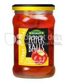 Produktabbildung: Feinkost Dittmann Pepperballs Curry-Ananas 320 ml