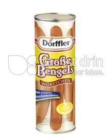 Produktabbildung: Dörffler Große Bengels Würstchen 360 g