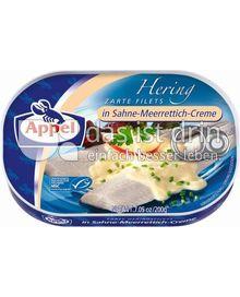 Produktabbildung: Appel Zarte Heringsfilets in Sahne-Meerrettich-Creme 200 g