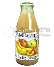 Produktabbildung: Milasan Früchte-Banane 500 ml