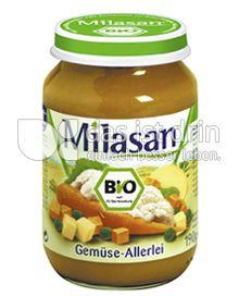 Produktabbildung: Milasan Gemüse-Allerlei 190 g