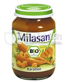 Produktabbildung: Milasan Karotten 190 g