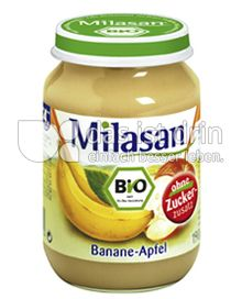 Produktabbildung: Milasan Banane-Apfel 190 g